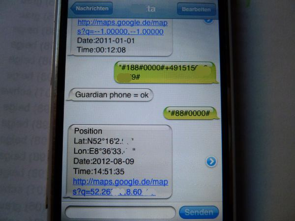 Call GPS SMS Tracker - Track SMS, Calls and Locations data