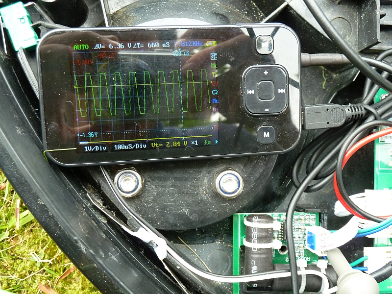 robot mower don t worry be creative induction loop coil signal