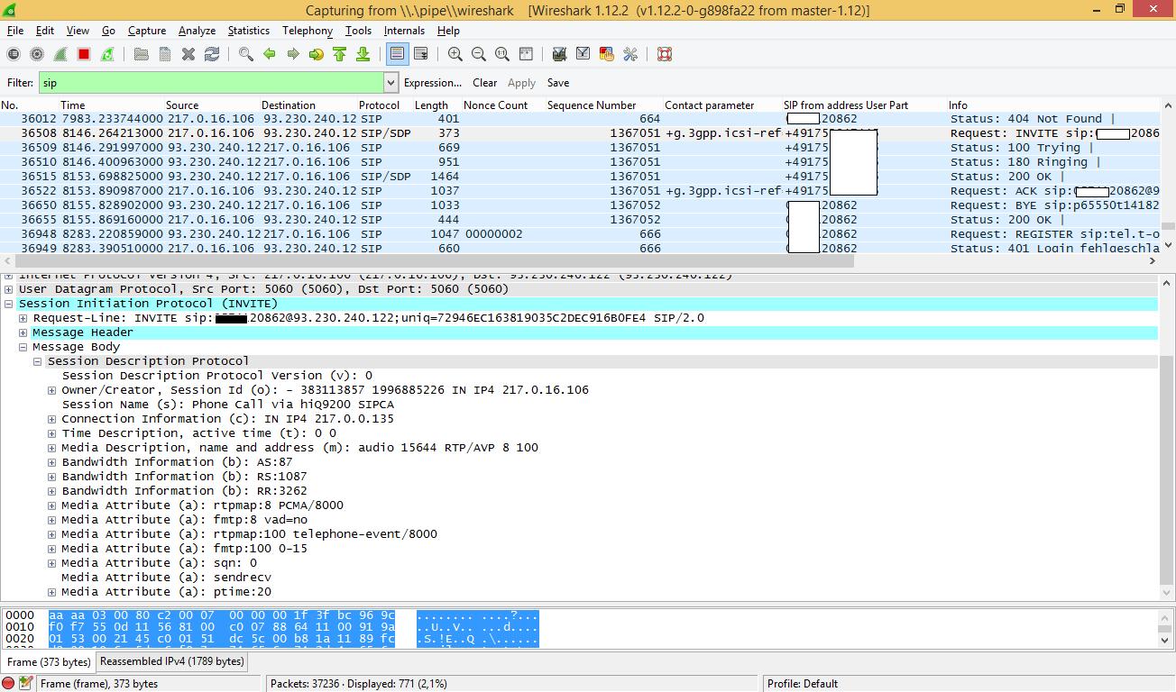 DSL router diagnostics (VoIP/SIP, DECT, POTS) | Work-is-Playing
