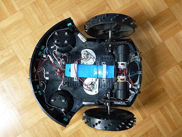 Tianchen tc g robot mower hacks arduinoatmega grau