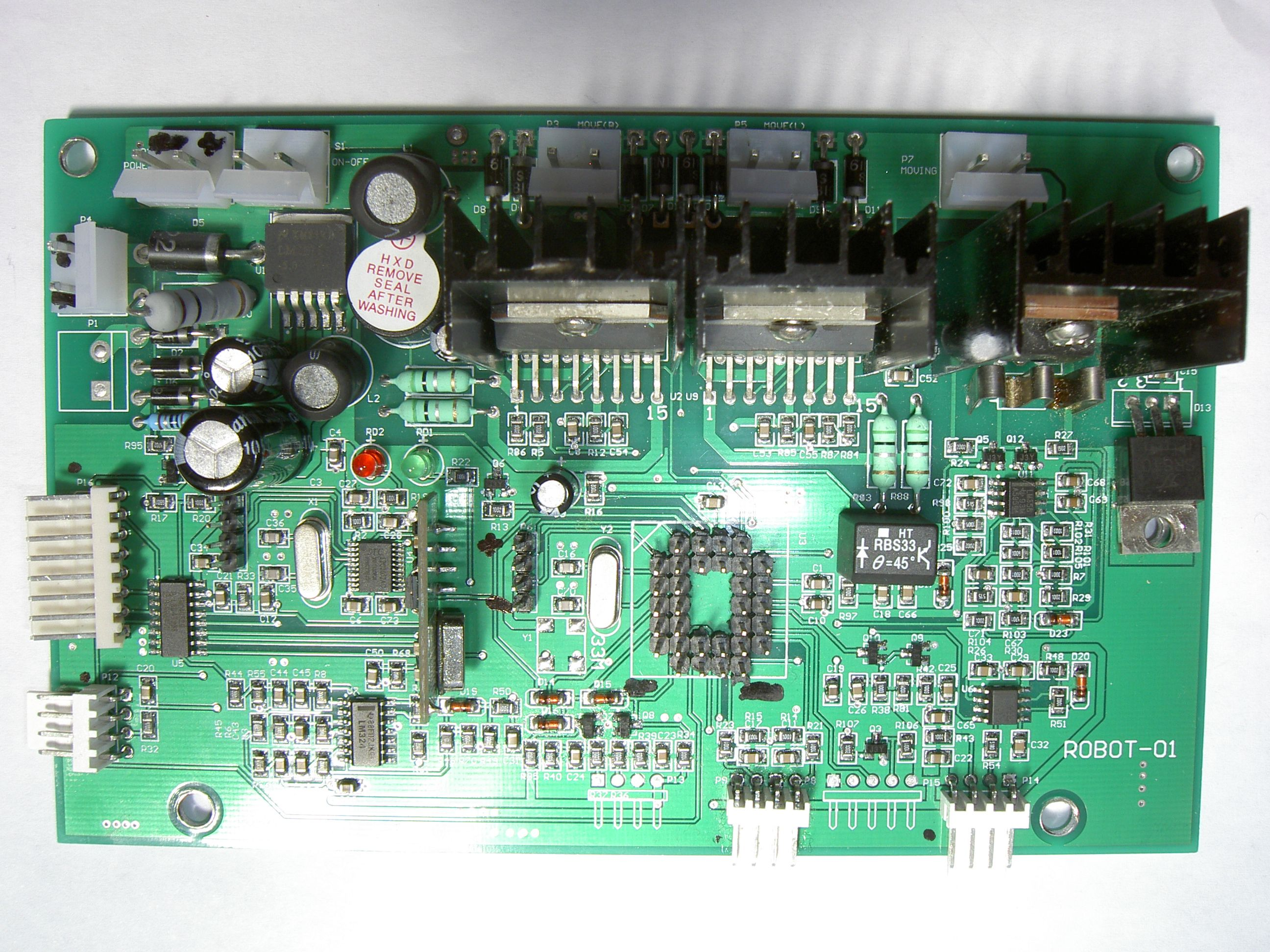 Tianchen TC-G158 Robot Mower Hacks (Arduino/ATMEGA) | Don\'t worry be ...